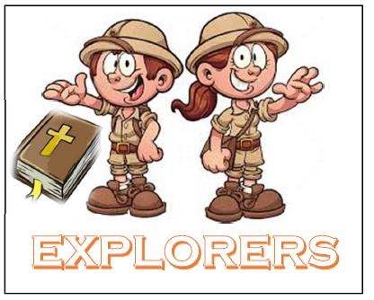 Explorers Kids Group Logo